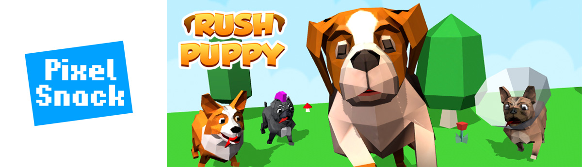 Rush Puppy - Infinite runner with super cute puppies